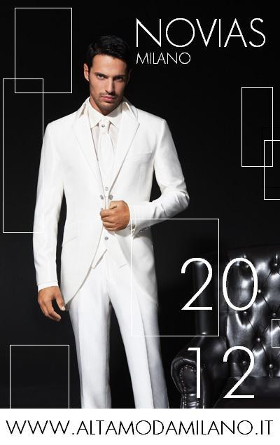 SCEGLIERE abiti da sposo milano collezioni uomo cerimonia elegante 2012 4bae25f9796