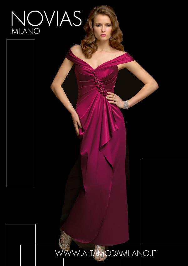 6723000855c2 Abiti da sera donna elegante sensuale e femminile made in milano NOVIAS
