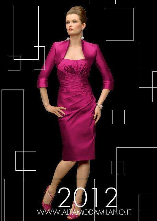 66e42bd9d61a Modelli vestiti da sera cerimonia donna abbigliamento moda made in  ALTAMODAMILANO.IT