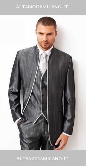 Abiti da sposo COREANO stile classico per l uomo elegante made in  ALTAMODAMILANO.IT 597054f33ea